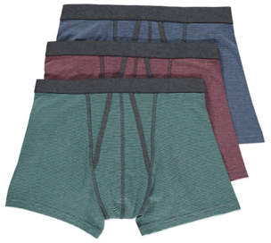 George Textured Trunks 3 Pack