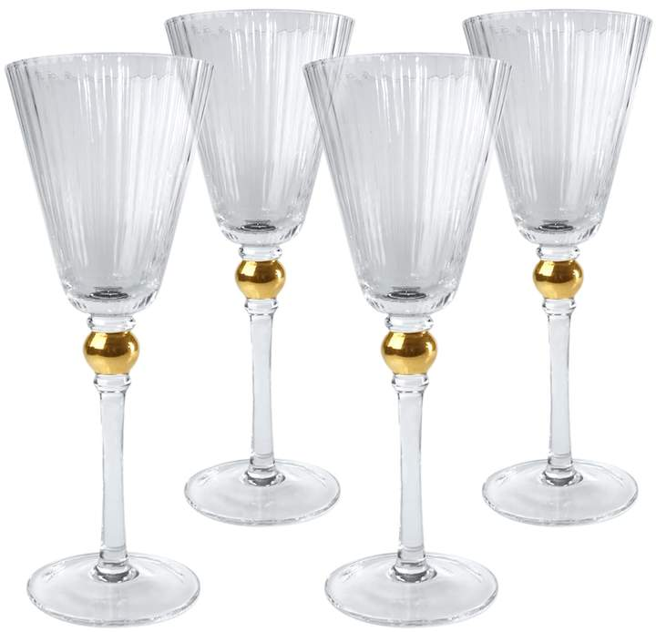 ArtlandArtland Jewel 4-pc. Wine Glass Set