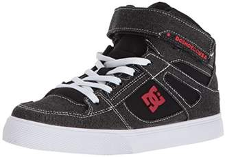 DC Boys' Pure HIGH-TOP TX SE EV Skate Shoe