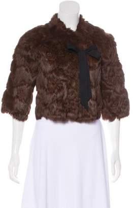 Poleci Reversible Fur Jacket