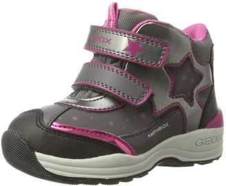 Geox Girl's B N.Gulp G.B ABX C Ankle Boots, Navy/Dk Pink