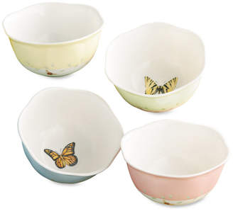 "Lenox Butterfly Meadow"" Dessert Bowls, Set of 4"