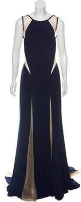 Jovani Mesh Maxi Dress w/ Tags