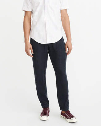 Abercrombie & Fitch Skinny Linen Chino Pants