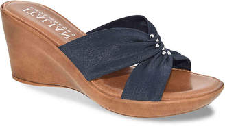 Italian Shoemakers Lilana Wedge Sandal - Women's