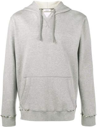 Valentino pyramid stud hoodie