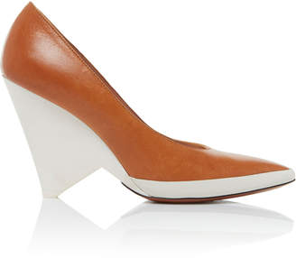 Givenchy Two-Tone Leather Pumps