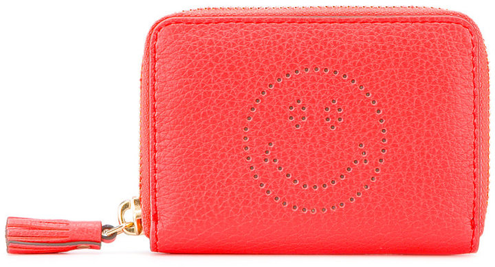 Anya Hindmarch Anya Hindmarch zip around Smiley wallet