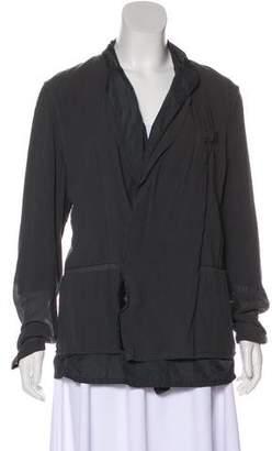 Lanvin Lightweight Button-Up Jacket