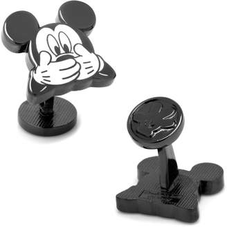 Disney Mischievous Mickey Mouse Cuff Links