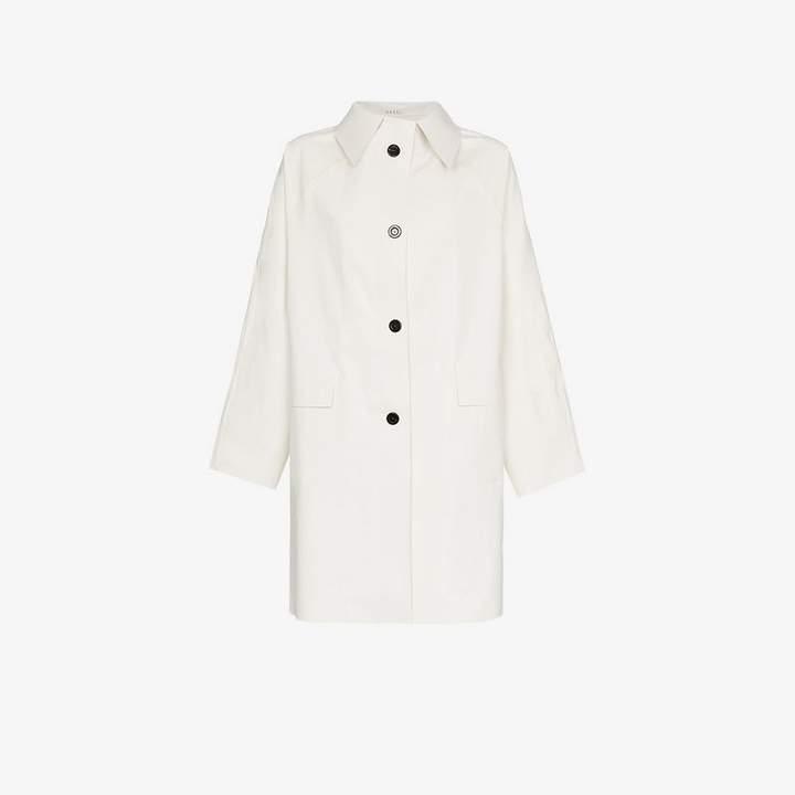 Kassl Single-Breasted Long Coat