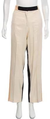By Malene Birger Silk High-Rise Pants
