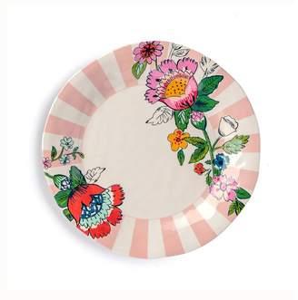 Vera Bradley Floral Stripe 10.5 Melamine Dinner Plate (Set of 2)
