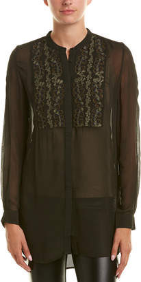 French Connection Donna Sheer Blouse