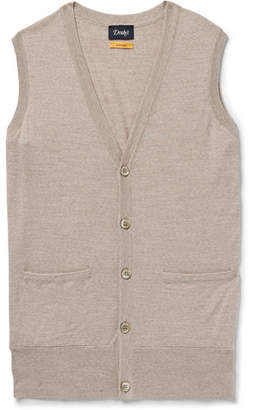 Drakes Drake's Mélange Virgin Wool Sweater Vest