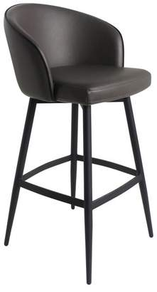 Moes Home Collection UU-1004 Webber 37 Tall Metal Kitchen Stool