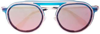 Thierry Lasry Ghosty round sunglasses