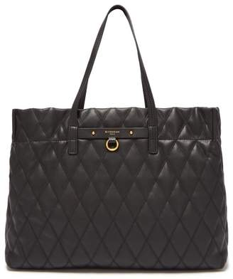 Givenchy Duo Quilted Leather Tote - Womens - Black