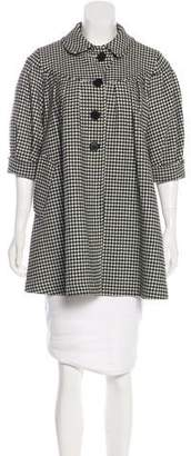 Paul Smith Wool Houndstooth Jacket