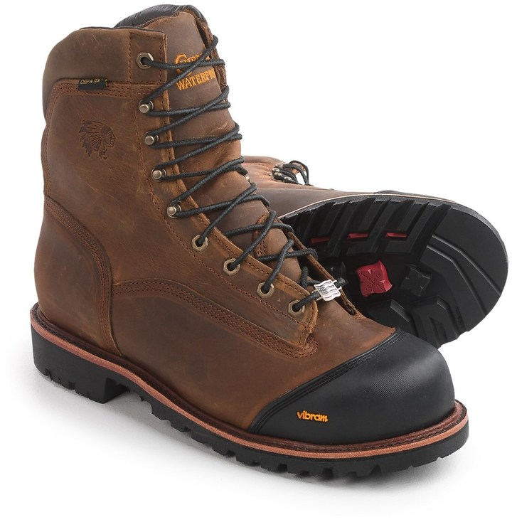 Chippewa Apache Composite Toe Work Boots Waterproof 8
