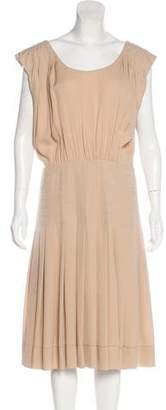 Rochas Sleeveless Midi Dress