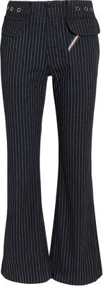 Atelier Jean Clara Pinstripe Jeans