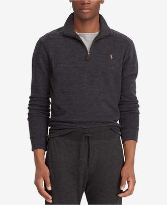 Polo Ralph Lauren Men Estate-Rib Mock-Neck Pullover