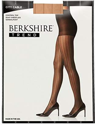 Berkshire Women's Trend City Cable Control Top Pantyhose