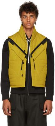 Abasi Rosborough Yellow Quilted Tactical Vest