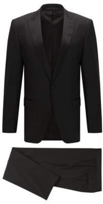 BOSS Hugo Wool Tuxedo, Slim Fit Housten/Glorious 48R Black