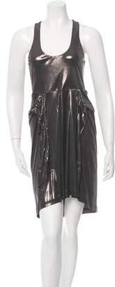 Halston H by Sleeveless Square Neck Dress