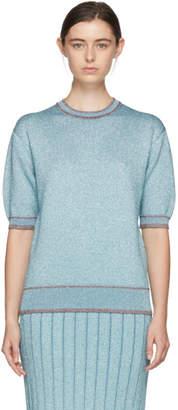 Marc Jacobs Blue Lurex Sweater