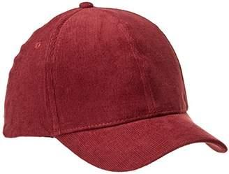Rebel Canyon Women's Corduroy Adjustable Plain Baseball Cap