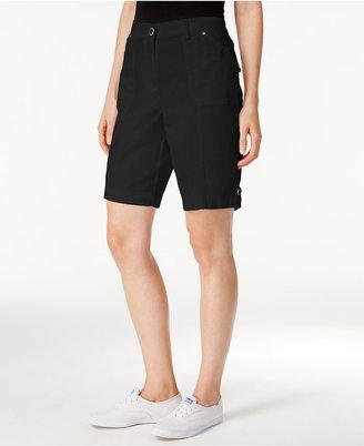 Karen Scott Cargo Shorts, Only at Macy's $39.50 thestylecure.com