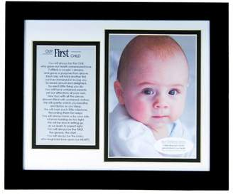 Grandparent Gift Co. The The Grandparent Gift Baby Keepsakes The First Child Frame