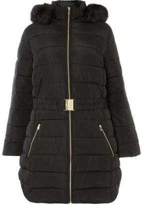 Dorothy Perkins Womens **DP Curve Black Puffer Jacket