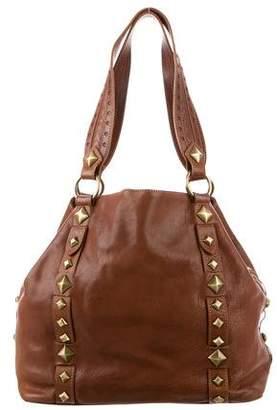 Michael Kors Leather Studded Bag