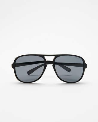 Express Matte Browbar Sunglasses