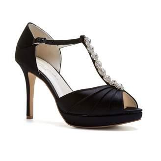 3d63fc3cbb Paradox London Cindy Black High Heel T-Bar Platform Sandals