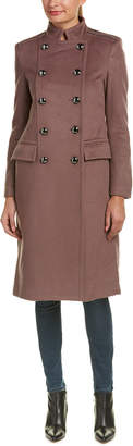 Badgley Mischka Trinity Wool-Blend Coat