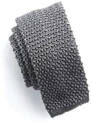 Todd Snyder Classic Silk Knit Tie in Grey