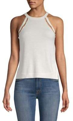 Ramy Brook Grace Studded Tank Top