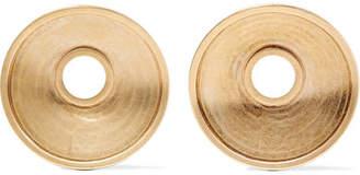 Marni Monile Gold-tone Clip Earrings