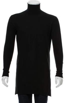 Rick Owens Cashmere Mock-Neck Sweater