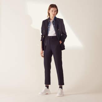 Sandro Straight-Cut Tailored Pants
