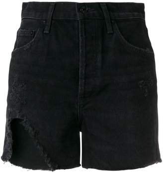 A Gold E Agolde Dee shorts