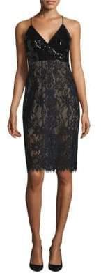 BCBGMAXAZRIA Knit Evening Slip Dress