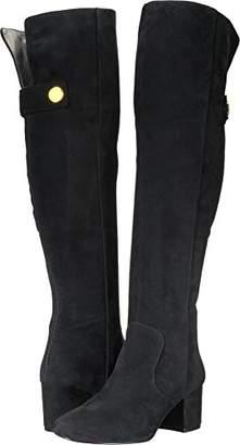 Nine West Women's QUEDDY Suede Over The Knee Boot