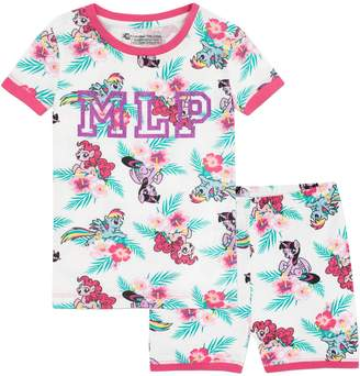 My Little Pony Girls' Pinkie Pie Rainbow Dash and Twilight Sparkle Pajamas