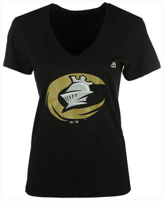 Majestic Women's Charlotte Knights Primary Club Logo T-Shirt